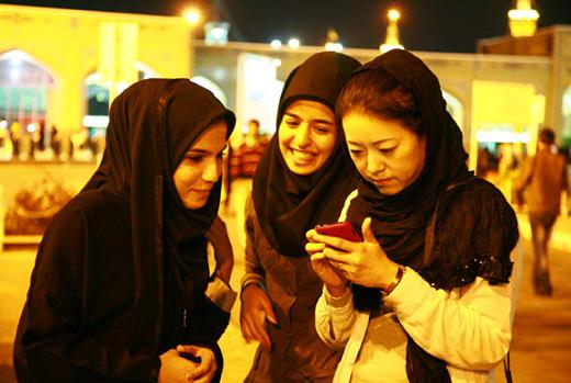 resa till Iran
